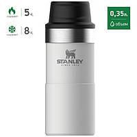 Термокружка Stanley The Trigger-Action Travel Mug white (10-06440-016), фото 1