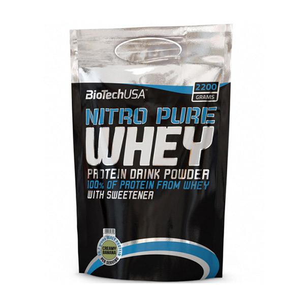 Протеин сывороточный  Nitro Pure Whey (2,2 kg) BioTech