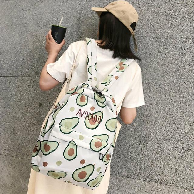 молодежный рюкзак с авокадо