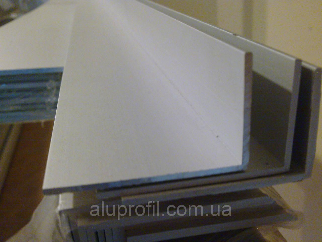 Алюминиевый профиль — уголок алюминиевый 60х20х3 AS