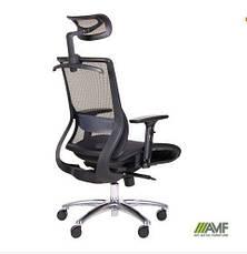 Кресло руководителя Кодер (Coder Black Alum Black) (с доставкой), фото 3