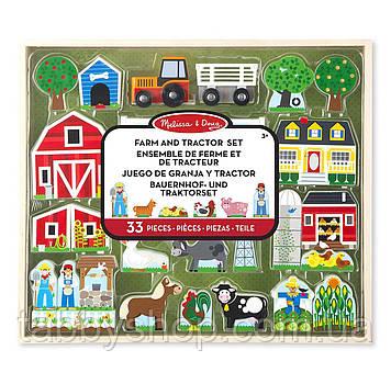 """Деревянный набор Melissa & Doug """"Ферма и трактор"""""""