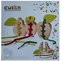 Развивающая игра-шнуровка Фрукты Cubika 14811