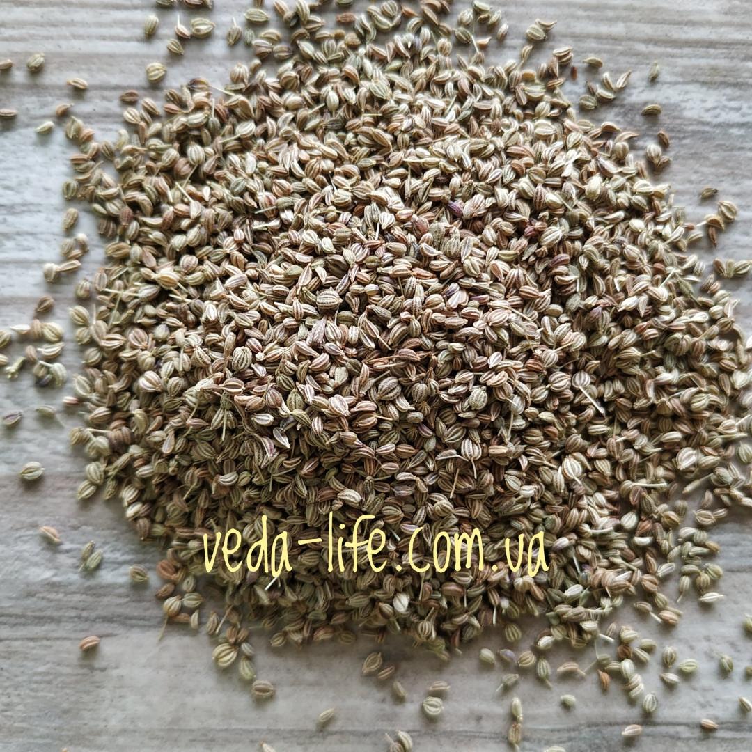 Аджван, Ажгон семена, 20 грамм - противопростудное, для снятия спазмов и колик; укрепляет нервную систему