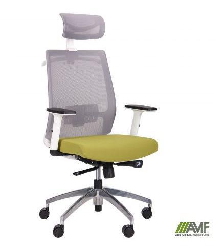 Кресло руководителя Инсталл (Install White Alum) (с доставкой)