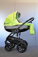 Детская универсальная коляска 2 в 1 Ajax Group Viola Lime (серый+салатовый (98/Q1)
