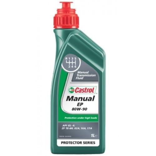 Трансмиссионное масло  Castrol Manual EP 80w90 GL-4/GL-5 (Канистра 1л)
