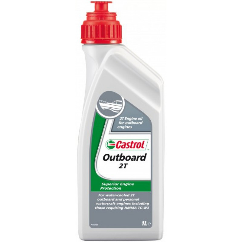 Масло моторное Castrol OUTBOARD 2T (Канистра 1л)