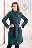 """Женское модное кашемировое пальто в расцветках """"Волна"""" (размеры 42, 44, 46, 48), фото 8"""