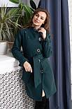 """Женское модное кашемировое пальто в расцветках """"Волна"""" (размеры 42, 44, 46, 48), фото 7"""