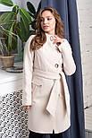 """Женское модное кашемировое пальто в расцветках """"Волна"""" (размеры 42, 44, 46, 48), фото 10"""