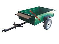 Прицеп для мотоблока съемные борта EXPERT (1,2м х 1,85м)  без колес и покрышек