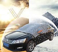 Защитный чехол от снега на лобовое стекло автомобиля