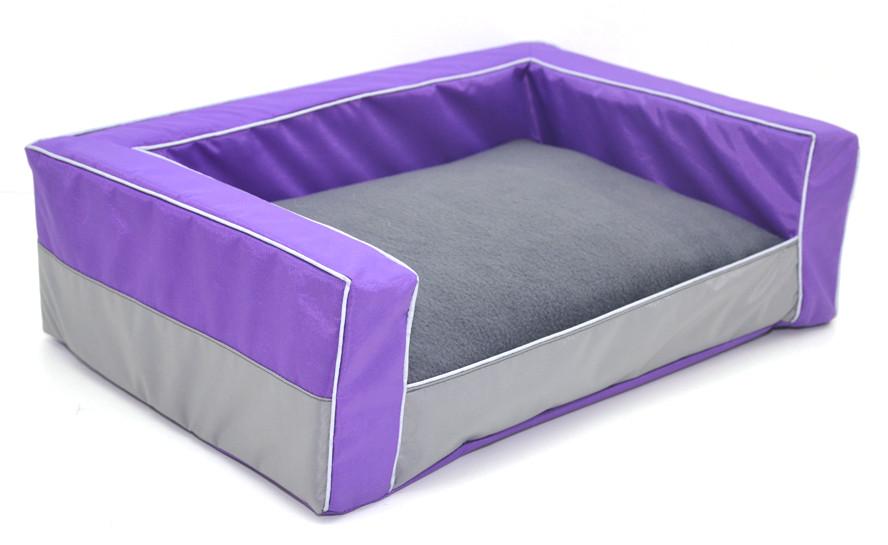Диван для собак Гармония фиолетовый