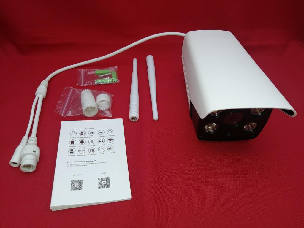 Поворотная IP WIFI видеокамера