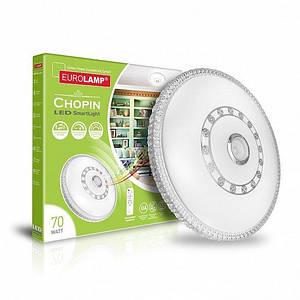 Світлодіодний світильник Eurolamp музичний SMART LIGHT 70W Chopin 3000-6500K (LED-SLM-70W-N16(deco))