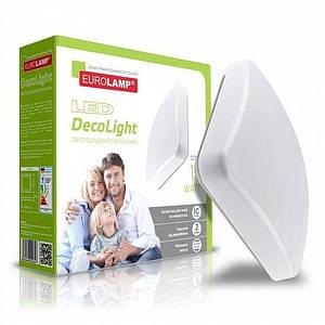 Світлодіодний світильник Eurolamp DownLight квадратний накладної 14W 4000K (LED-NLS-14/4(F)new)