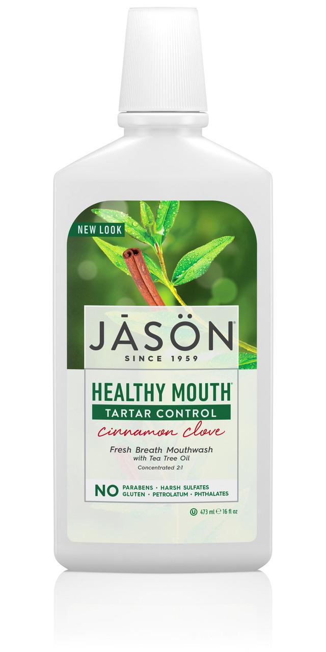 Полоскание для рта против зубного камня, Jason Natural, 473 мл
