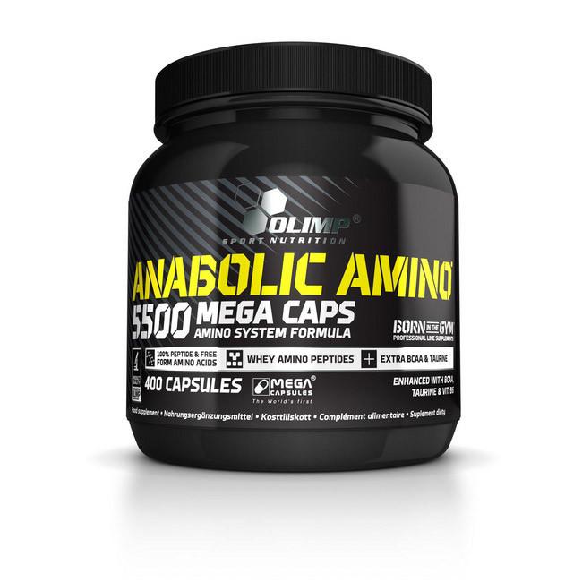 Аминокислоты Anabolic Amino 5500 (400 caps) OLIMP