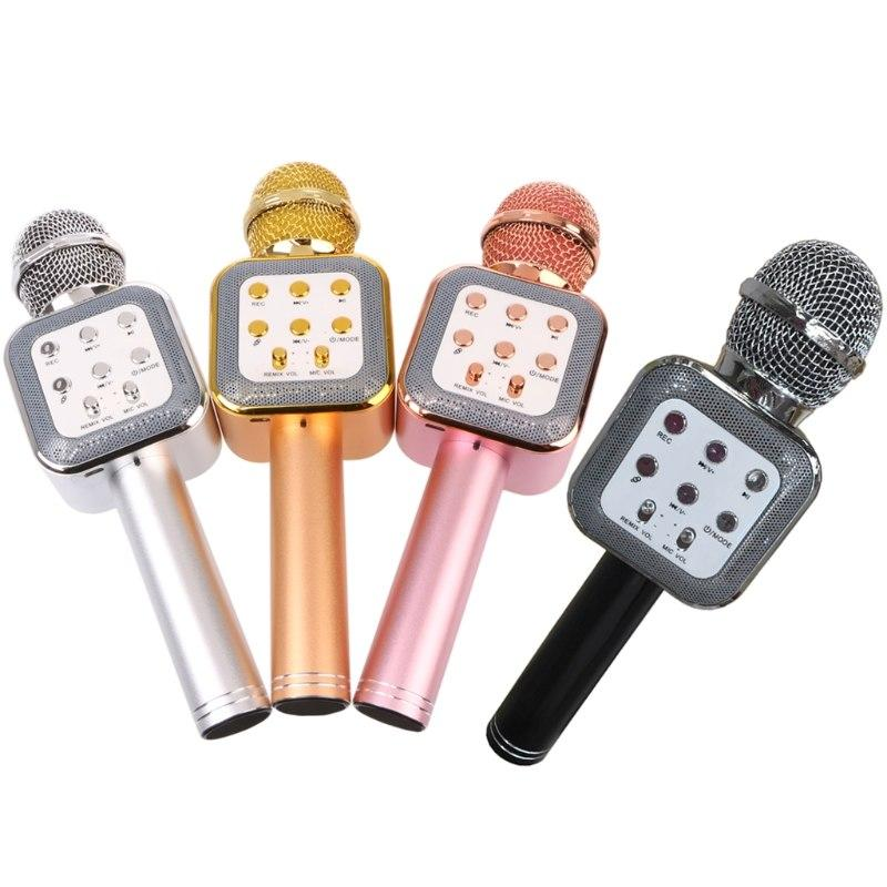 Микрофон-караоке беспроводной WSTER WS-1818