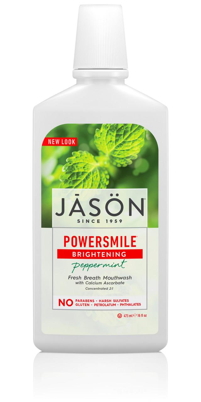 Осветляющий ополаскиватель для рта, Jason Natural, 473 мл