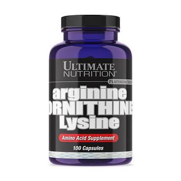 Arginine Ornithine Lysine (100 caps) Ultimate Nutrition