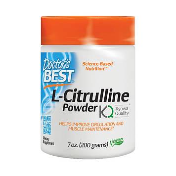 Аминокислота Doctor's Best L-Citrulline Powder 200г