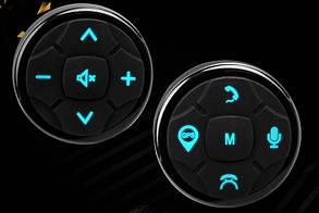 Кнопки управления магнитолой на руле ZIRY XJ-3, универсальные с подсветкой LED