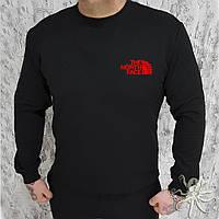 Зимний мужской свитшот, кофта на флисе, реглан, чоловічий світшот, толстовка The North Face, Реплика