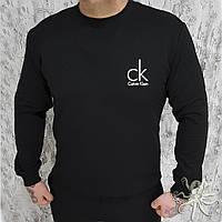 Зимний мужской свитшот, кофта на флисе, реглан, чоловічий світшот, толстовка Кельвин Кляйн, Реплика