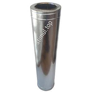 Труба Сендвич нерж/цинк 160х220 мм (1 метр) / Труба Сендвіч / Утеплена димохідна труба, фото 2