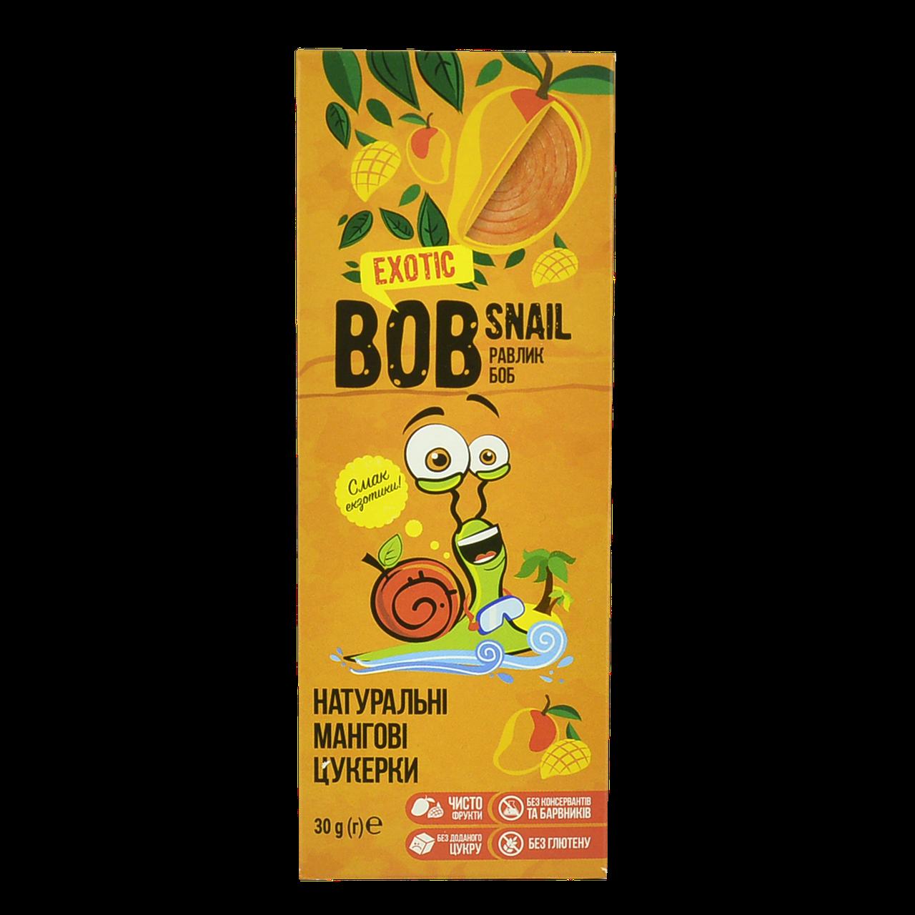 Конфеты BOB SNAIL Манго 30гр (1уп/24шт)