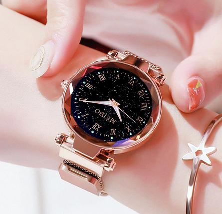 Часы женские  звёздное небо ремешок на магнитике 4 цвета, фото 2