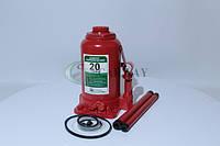 Домкрат гидравлический  20 т (бутылочный) 225-455мм (10,5 кг) CW020 (пр-во Carway)