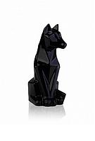 Статуэтка Собака полигональ керамическая (черный) 13*10*24 см ETERNA 2508-24
