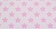 Сатин (хлопковая ткань) розовые звезды (пряники) (75*160), фото 3