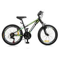 Велосипед Детский Горный Profi 20 дюймов колесо Черный (G20A315-L-1B)