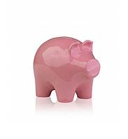 Статуэтка (копилка) Свинка керамическая (белый, розовый, бежевый) 12,5*9*10 см ETERNA 2029-10