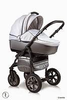 Детская универсальная коляска 2 в 1 Ajax Group Glory Granite (серый+металик (98/16)
