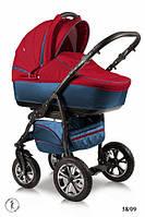 Детская универсальная коляска 2 в 1 Ajax Group Glory (синий+красный (58/09)