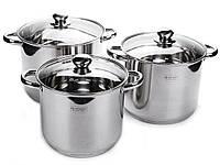 Набор посуды большие кастрюли - 6 пр Edenberg EB-530