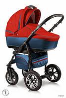 Детская универсальная коляска 2 в 1 Ajax Group Glory  Indian (синий+красный (58/15)