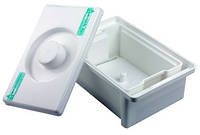 Емкость-контейнер для дезинфекции и химической стерилизации 1л.