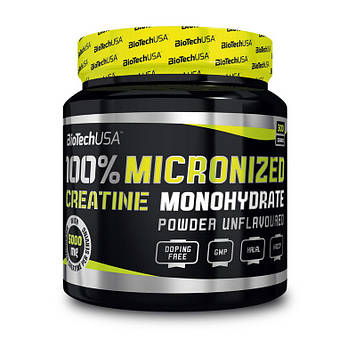 100% Creatine Monohydrate (300 g, unflavored) BioTech