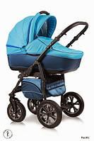 Детская универсальная коляска 2 в 1 Ajax Group Glory Pacific (синий+я.голубой (58/31)