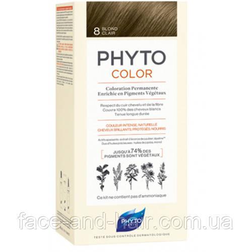 Крем-краска Фито Фитоколор PHYTO Phytocolor тон 8 светло-русый