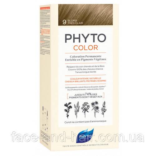 Крем-краска Фито Фитоколор PHYTO Phytocolor тон 9 блондин