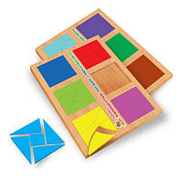 Квадрати Нікітіна Cклади квадрат рівень 3. 12 квадратів Вундеркінд (СК-021)