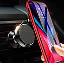 Тримач телефону магнітний ZIRY з прищіпкою, чорний, фото 2