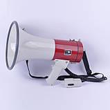 Переносний мегафон зі зйомним мікрофоном SD-10SH-B, фото 2